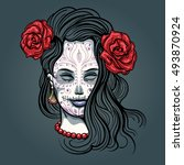 Day Of The Dead Illustration....