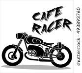 motorcycle icons | Shutterstock .eps vector #493893760