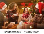 home party | Shutterstock . vector #493897024