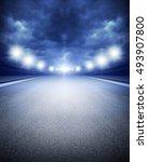 track arena | Shutterstock . vector #493907800