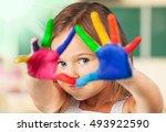 painter. | Shutterstock . vector #493922590