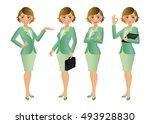 elegant people businesswoman   Shutterstock .eps vector #493928830