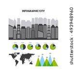 buildings infographic city...