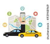 transport service app... | Shutterstock .eps vector #493948969