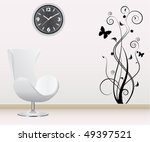 wall decoration | Shutterstock .eps vector #49397521