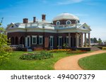 thomas jefferson's famous... | Shutterstock . vector #494007379