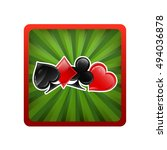 icon for an application card... | Shutterstock .eps vector #494036878