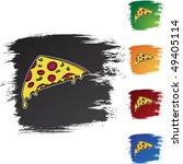 pizza slice | Shutterstock . vector #49405114