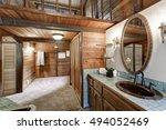 Bathroom Interior In A...