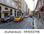 istanbul  turkey   august 27 ... | Shutterstock . vector #494053798