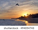 Kiteboarding  Itesurfing At...