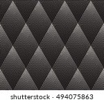 vector seamless black and white ... | Shutterstock .eps vector #494075863