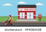 Post Office Service With...