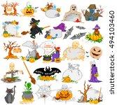easy to edit vector... | Shutterstock .eps vector #494103460
