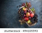 Autumn Fruits And Vegetables I...
