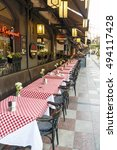 istanbul  turkey   august 27 ... | Shutterstock . vector #494117428