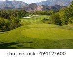 golf course | Shutterstock . vector #494122600