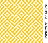 pattern stripe seamless orange... | Shutterstock .eps vector #494131090