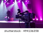 professional digital video... | Shutterstock . vector #494136358