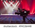 professional digital video... | Shutterstock . vector #494136448