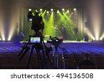 professional digital video... | Shutterstock . vector #494136508