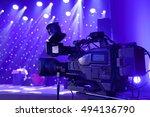 professional digital video... | Shutterstock . vector #494136790