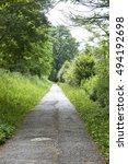Small photo of Sentiero della Valtellina, bicycle path along the Adda river iat summer