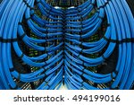Cabled In Server Room