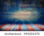 usa style background   empty... | Shutterstock . vector #494201470