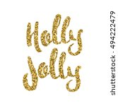 have a holly jolly christmas.... | Shutterstock .eps vector #494222479