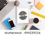 bonus concept | Shutterstock . vector #494239216