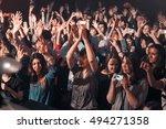 moscow 5 october 2016 music... | Shutterstock . vector #494271358