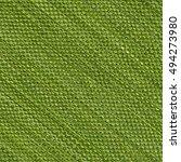 Green Fake Burlap Texture