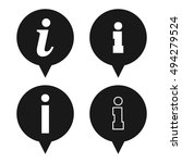 information sign icons speech...