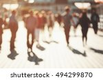 blurred background of... | Shutterstock . vector #494299870