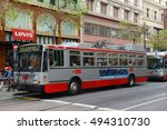 san francisco   march 14 ... | Shutterstock . vector #494310730