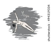 vector illustration of... | Shutterstock .eps vector #494319334