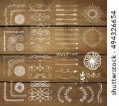 hand drawn doodle design...   Shutterstock .eps vector #494326654