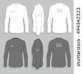 dress shirts | Shutterstock .eps vector #494342323