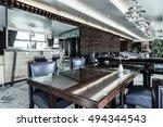 modern lounge bar interior | Shutterstock . vector #494344543