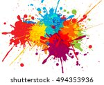 Vector Colorful Background...