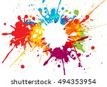 vector colorful background... | Shutterstock .eps vector #494353954