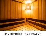 sauna | Shutterstock . vector #494401639