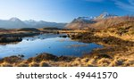 Landscape Of Scottish Highlands