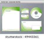 vector illustration of green... | Shutterstock .eps vector #49443361