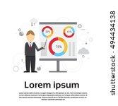business man presentation flip...   Shutterstock .eps vector #494434138