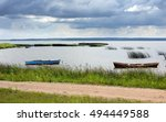 sky clouds lake   Shutterstock . vector #494449588