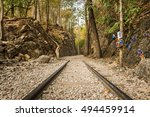 death railway  old railway at... | Shutterstock . vector #494459914