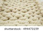 wool texture background | Shutterstock . vector #494473159
