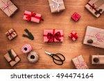 Christmas Presents Laid On...